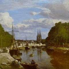 Obraz Eugène Boudine'a z 1857 roku