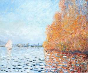 Sekwana w Argenteuil - The Siene at Argenteuil - Monet