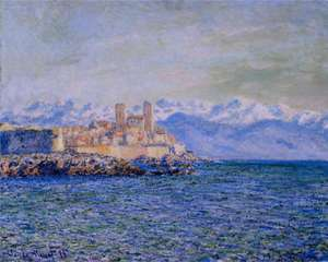 Obraz Moneta - Stary fort w Antibes