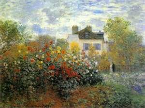Ogród Moneta w Argenteuil - The Garden of Monet at Argenteuil