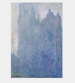 Monet - Katedra w Rouen w mgle -  Rouen cathedral in the fog