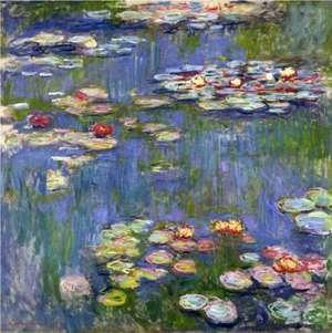 Obraz Moneta - Lilie wodne 1916